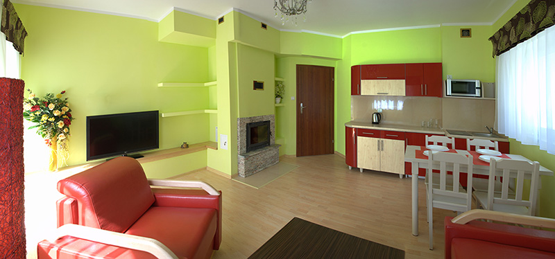 Zielony apartamenty - Apartamenty Żabcia Grzybowo